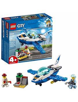Lego City Sky Police Jet Patrol 60206 Building Kit , New 2019 (54 Piece) by Lego