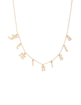 Feminista Charm Necklace by Forever 21