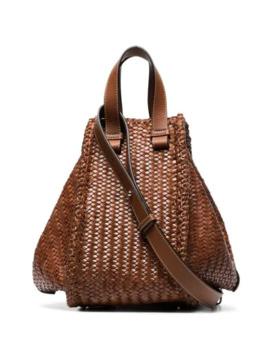 Medium Hammock Woven Shoulder Bag by Loewe