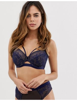 Asos Design Fuller Bust Exclusive Lace High Apex Underwire Bra by Asos Design