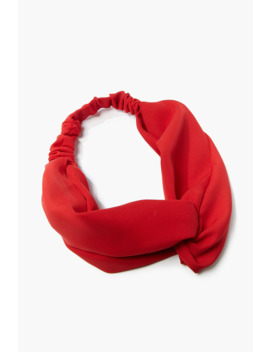Woven Twisted Headwrap by Forever 21
