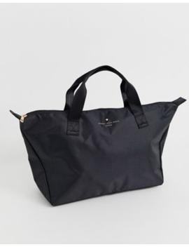 Johnny Loves Rosie Medium Weekender Tote Bag In Black by Johnny Loves Rosie