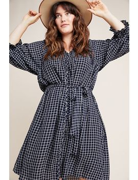 Sara Smocked Shirtdress by Anthropologie