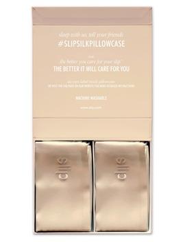 Slip™ For Beauty Sleep Caramel Queen Pillowcase Duo by Slip For Beauty Sleep