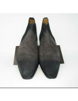 Magnanni Shaw Ii Grey Suede Chelsea Boot Size 10.5 Us (20109 8) 1471 by Magnanni