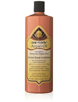 One 'n Only Argan Oil Moisture Repair Conditioner Derived From Moroccan Argan Trees, 33 Ounce by One 'n Only
