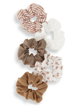 Pack Of 5 Assorted Scrunchies by Bp.