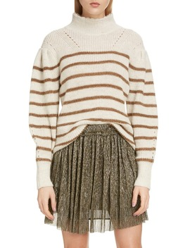 Georgia Stripe Mock Neck Sweater by Isabel Marant Étoile