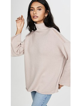 Oversized Funnel Neck Sweater by Tse Cashmere