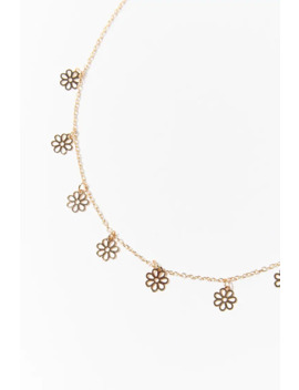 Daisy Charm Necklace by Forever 21