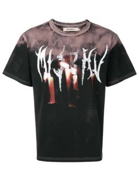 Camiseta Con Motivo Tie Dye by Misbhv