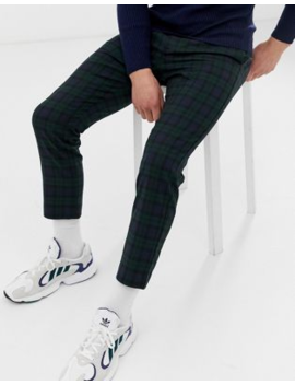 Mennace Trousers In Blackwatch Check by Mennace