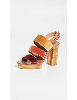 Patos 105mm Sandals by Tory Burch