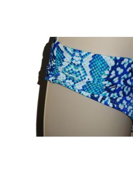 La Blanca Bikini Swim Bottom Swimsuit Size 14 Blue Hipster Women Swimwear by La Blanca