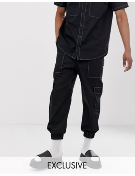 The Ragged Priest Utility Joggers With Contrast Stitching Co Ord by The Ragged Priest