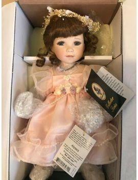 "Geppeddo Porcelain 11"" Doll Alyssa Collector Series 4112/4740New In Box by Geppeddo"