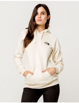 The North Face Red Box White Womens Hoodie by The North Face