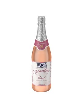 Welch's Sparkling Rosé   25.4 Fl Oz Glass Bottle by 25.4 Fl Oz Glass Bottle