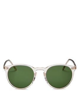 Men's O'malley Round Sunglasses, 48mm by Oliver Peoples