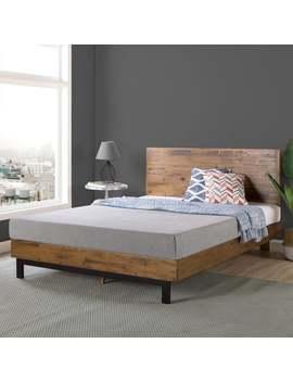 Priage By Zinus Wood Platform Bed by Zinus
