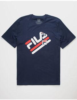 Fila Tim Navy Mens T Shirt by Fila