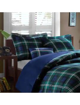 Mi Zone Cameron Blue Comforter Set by Mi Zone