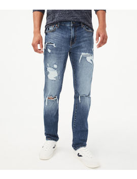 Slim Destroyed Stretch Jean by Aeropostale