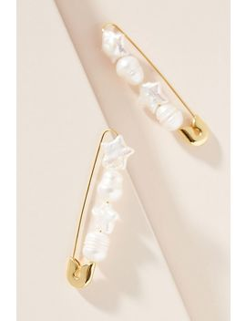 Bauble Bar Charisse Pearl Drop Earrings by Bauble Bar