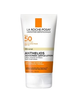 La Roche Posay Anthelios Mineral Sunscreen Body And Face Sunscreen Lotion   Spf 50   4.0 Fl Oz by Posay Anthelios Mineral Sunscreen Body And Face Sunscreen Lotion