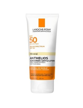 La Roche Posay Anthelios Body And Face Soft Finish Mineral Sunscreen Lotion   Spf 50   3.04 Fl Oz by Posay Anthelios Body And Face Soft Finish Mineral Sunscreen Lotion