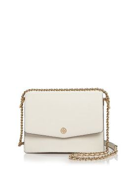 Robinson Leather Convertible Shoulder Bag by Tory Burch