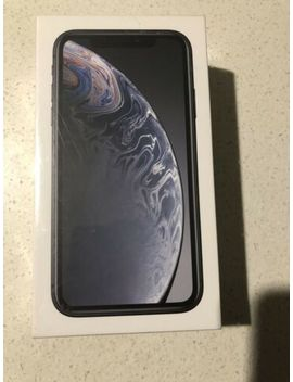 I Phone Xr Black   64 Gb   Brand New Sealed In Box   Unlocked&Nbsp; by Apple