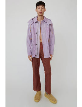 Relaxed Parka Lilac Purple by Acne Studios