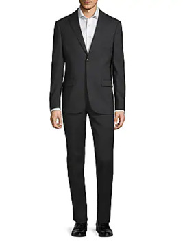 Slim Fit Wool Suit by John Varvatos