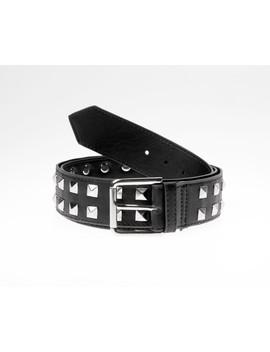 Studded Belt (Black) by Disturbia