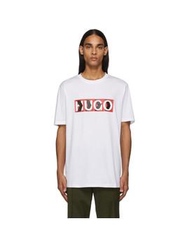 white-liam-payne-edition-dicagolino-t-shirt by hugo