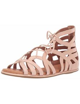 Gentle Souls Women's Break My Heart Gladiator Sandal Flat by Gentle Souls