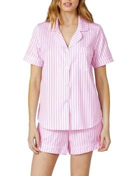stripe-cotton-short-pajamas by bedhead