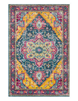 """closeout!--anika-ani-1030-teal-710""""-x-103""""-area-rug by general"""