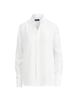 silk-broadcloth-shirt by ralph-lauren