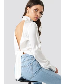 high-neck-shirt-weiß by chloe-b-x-na-kd