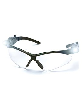 Pyramex Pmxtreme Readers Bifocal Safety Glasses Eye Protection, Clear +1.5 Bifocal Lens, Led Temples by Pyramex Safety