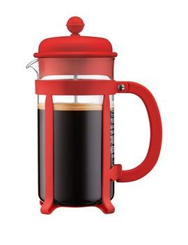 red-java-french-press-34oz-coffee-maker by bodum