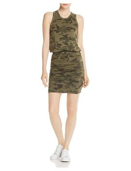 ruched-camo-dress by sundry