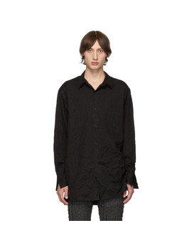 black-wrinkled-shirt by yohji-yamamoto