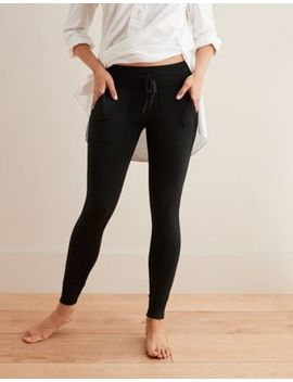 Aerie Play Pocket &Amp; Cuff Legging by American Eagle Outfitters