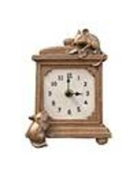 brown-mice-mantel-clock by dunelm