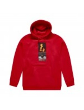 hockey-view-hoodie-(red) by dover-street-market