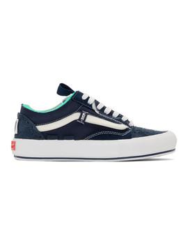 blue-regrind-old-skool-cap-lx-sneakers by vans