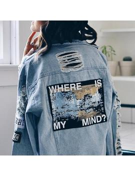 """where-is-my-mind""-denim-jacket by aesthentials"